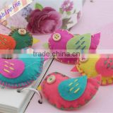 Hot sell Wool Felt Animal Birds Sewing Patterns DIY Decoration crafts supplies Accessoriess made in China
