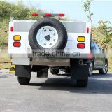 Customized galvanized steel rear folding off road camping travel trailer