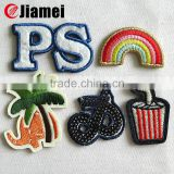 OEM embroidery iron on patches sew on patch baby embroidered patches