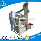 Grain gravity table crop seed cleaner