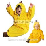 KS10422A Wholesale different pattern baby sleeping bags spring and autumn banana sleeping bag