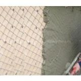 Light type chain link plastering mesh - galvanized or black mesh