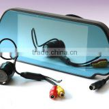 7 inch wide screen rearview mirror monitor. car rearview mirror monitor .car screen mirror monitor
