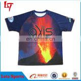 New Style men's Raglan Baseball&Softball T-shirt Custom Sublimation Baseball Jersey