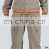 100% Cotton High Visibility Reflective Safety Coveralls