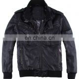 fashion diamond quilted mens spring handsome biker leather jacket