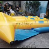 Water Play Games Inflatable Banana Towable Flyfish Water Games Flying Towable Flying Boat For Kids And Adults