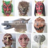 Halloween costumes Theater Prop High quality Novelty Latex Rubber Horse Head Animals Mask