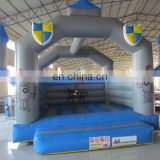 Indoor Commercial inflatable blue combo jumper for children