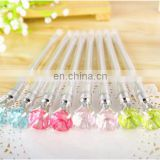 Simulation Diamond Black Ink Gel Pen cute creative Stationery and office supplies