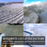 Dust-free bentonite cat litter export quality OEM foundry