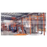 Automatic powder coating booth for aluminium profiles 1.7