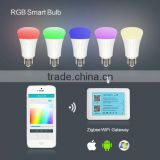 Factory Exports Wifi Controller Color Temperature Dimming LED Bulb Smart Home CE&RoHS Certified 3 Bulb