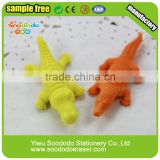 Mini dinosaur soft eraser