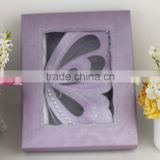 2016 New Design 3D Butterfly Scroll Wedding Decoration Box Wedding Invitation Card                                                                         Quality Choice