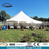 2016 New design fashion event tent, popular pole tent/stretch tent for sale, carpas baratas