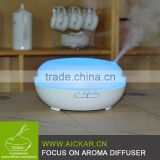 Aickar aroma diffuser supplier 200ml Wood Grain Aroma Diffuser Ultrasonic Mist Essential Oil Cool Diffuser with Timer
