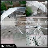 Wholesale Personalized Monogrammed Clear Plastic Umbrella                                                                         Quality Choice