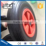 14 inch solid rubber wheel for wheel barrow 350-8