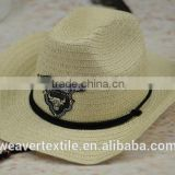 Custom High Quality Summer Straw Lifeguard and Unisex Gender Hats With A LOGO