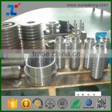 SUREALONG factory Dennis sale of aluminum precision cnc machining parts with Anodic oxidation black
