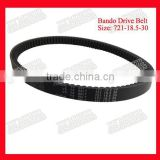 Genuine Drive Belt For Honda Motorcycle Bando V Belt 721-18.5-30