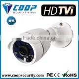 Bullet Camera With 3.6mm Fixed Lens 30M IR CCTV Camera HD TVI Outdoor Camera 1080P CE,FCC,ROHS certification