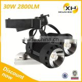 Factory Price Led Track Lights 220V / Sharp Cob Led Track Lighting                                                                         Quality Choice