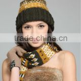 wholesale wool knitted winter cool fashion hat and cap hats