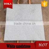 light grey sandstone tiles and slabs, white sandstone with veins