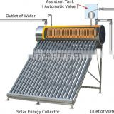 The latest copper tube coil solar water heater with second heat exchanger