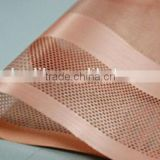 Manufacturer mesh copper foil for lithium anode materials used for coating anode materials/mesh copper foil