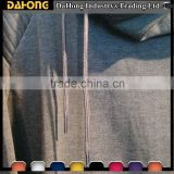 best quality round multicolored drawstring metal tip braided polyester cord