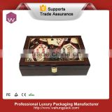 Poker custom wooden game box