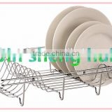 HOT metal wire kitchen ,dish drainer stainless steel kitchen dish rack