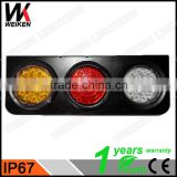 WEIKEN Auto spare parts led truck tail light trailer led side lights