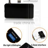 2014 Builtin Battery LCD Display Parking Car Mp3 Player Wireless All Frequency FM Transmitter for iPhone 5 5s 5c
