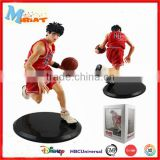 Home decor plastic basketball player sports action figures