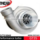 Performance GTX35R GTX3582R Turbo charger Dual Ball bearing Billet Wheel T3 Flange AR.82