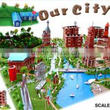 DIY toys educational toys hobby model brick city