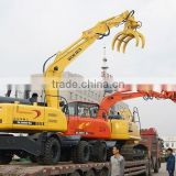 DLS865-9A 6ton mini wheel excavator with KYB pilot pump manufacture in china