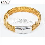 Factory direct wholesale gold jewellery bangles fashion fake gold bangle new gold bracelet designs