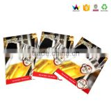 Gold plated custom adult playing cards
