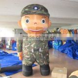 inflatable costumes inflatable moving cartoons, soldier cartoon