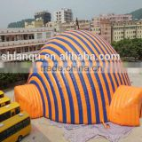 glamping tent play tent orange marquee party wedding tent                                                                                                         Supplier's Choice