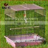 BAIYI Wholesale Good Quality Wire Mesh Bird Canary Breeding Cage (fast delivery,Made in China)