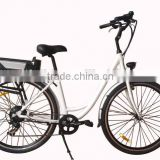 700c city e bike --- Brushless Motor and 31 - 60 km Range per Power with wuxing electric bike brake lever