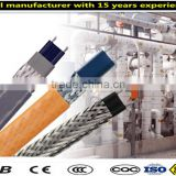 Flexible electric trace heating wire cable for pipe antifreezing