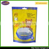 Ship Via Express Air Sea Factory Price Available Free Sample Zipper Dog Food Plastic Pouch Clear Window