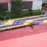 inflatable air tumble track for gym